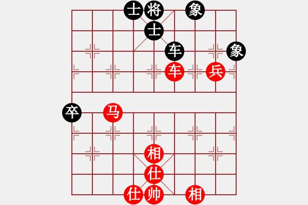 象棋棋谱图片:北方队 王天一 胜 南方队 赵鑫鑫 - 步数:100