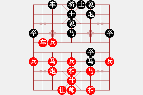 象棋棋谱图片:北方队 王天一 胜 南方队 赵鑫鑫 - 步数:50