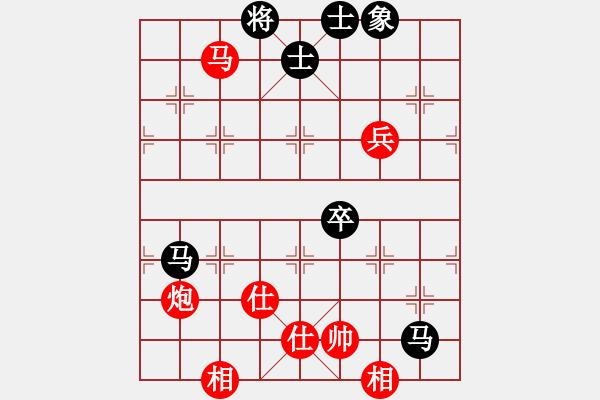 象棋谱图片:2019年第16届威凯杯全国象棋等级赛韩强先胜余小舟5 - 步数:110
