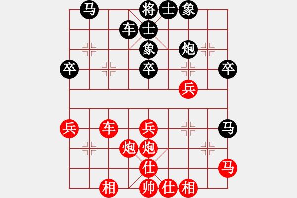 象棋棋谱图片:003 避实就虚 步步紧逼 - 步数:0
