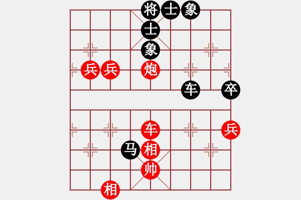 象棋棋谱图片:吕钦       先胜 卜凤波     - 步数:130
