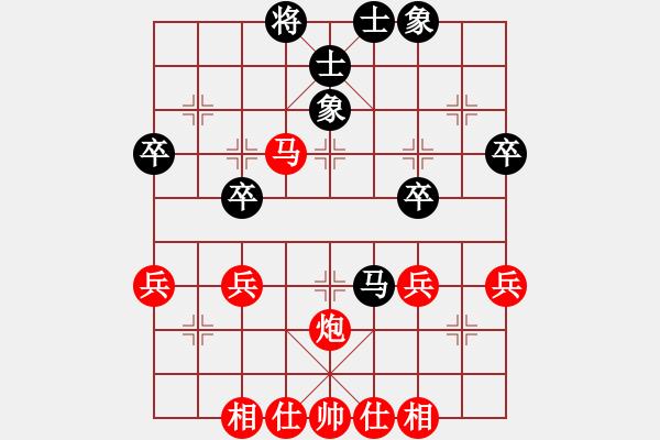 象棋棋谱图片:横才俊儒[292832991] -VS- 小老大[383018323] - 步数:50