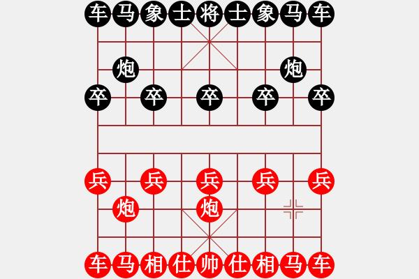 象棋棋谱图片:王廓(2先)胜赵金成网络赛(第2局) - 步数:0