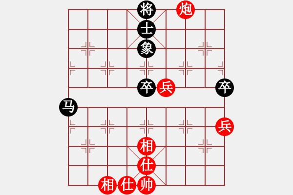 象棋棋谱图片:中国 许银川 胜 中国澳门 李锦欢 - 步数:110