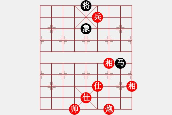象棋棋谱图片:中国 许银川 胜 中国澳门 李锦欢 - 步数:197