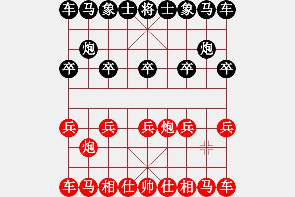 象棋棋谱图片:橘中秘pk梅花谱 - 步数:1