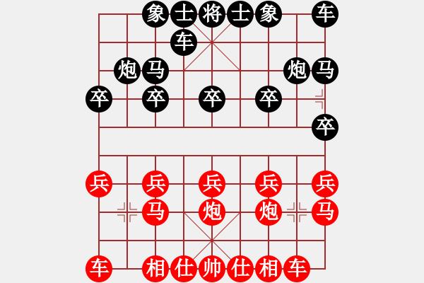 象棋棋谱图片:zzspj(8段)-和-水瓶座卡妙(9段) - 步数:10