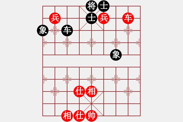 象棋棋谱图片:第245局 车双兵士相全和车士象全(一) - 步数:10