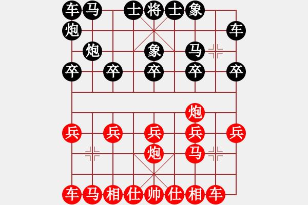 象棋棋谱图片:身处逆境 奋力反扑 - 步数:10