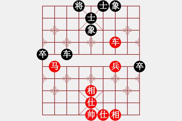 象棋棋谱图片:广东 许银川 和 上海 谢靖 - 步数:70