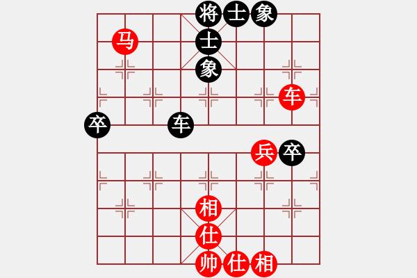 象棋棋谱图片:广东 许银川 和 上海 谢靖 - 步数:78