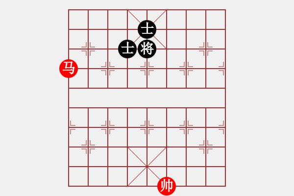 象棋棋谱图片:第37局 一马巧胜双士 - 步数:0