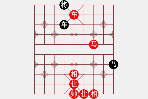 象棋棋谱图片:第267局 车马兵士相全胜车马双士 - 步数:10