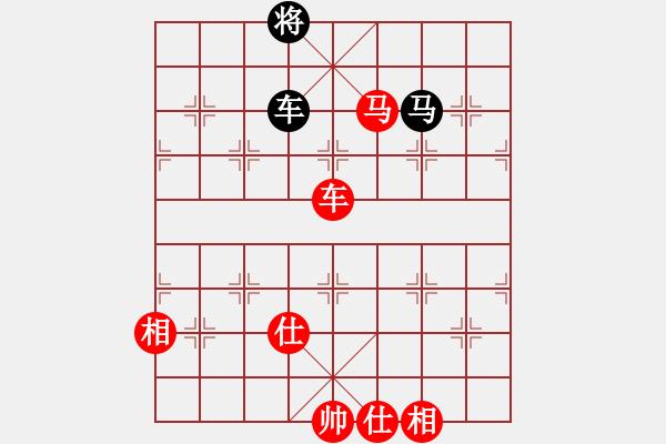 象棋棋谱图片:第267局 车马兵士相全胜车马双士 - 步数:19