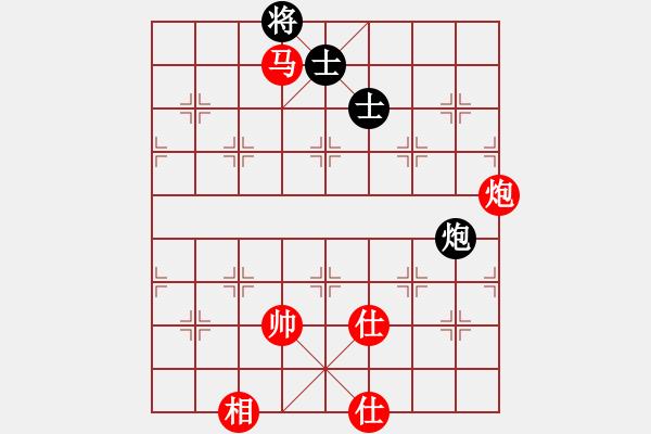 象棋谱图片:中炮对半途列炮左炮封车之炮8平7对车八平七参考对局3 - 步数:140