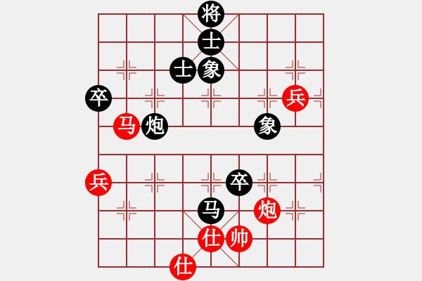 象棋棋谱图片:吴欣洋 先负 刘宗泽 - 步数:80