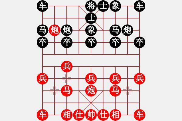 象棋谱图片:吴宗翰 先胜 海波奇纳 - 步数:10