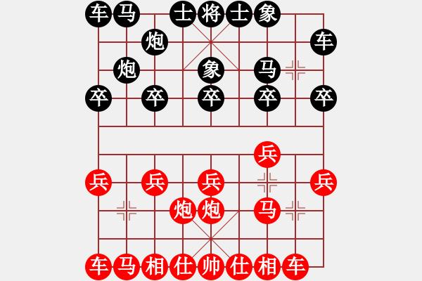 象棋棋谱图片:2 - 步数:10