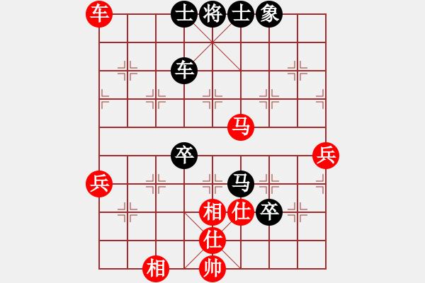 象棋棋谱图片:王同金(业九一) VS 郭海军 - 步数:80